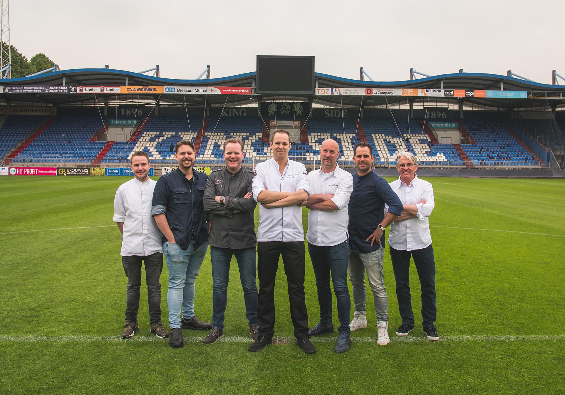 Dit zijn de chefs die samen Tilburg Geeft 2019 mogelijk maken.